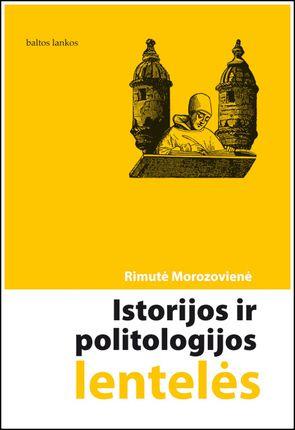 Istorijos ir politologijos lentelės