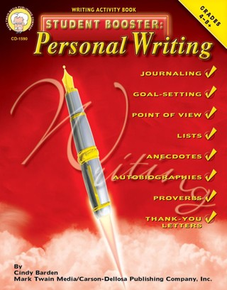 Student Booster: Personal Writing, Grades 4 - 8