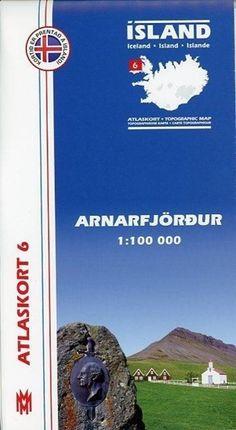 Island Atlaskort 06 Arnarfjördur 1:100.000