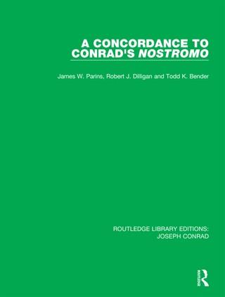A Concordance to Conrad's Nostromo