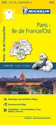 Michelin Paris - Ile de France / Ost