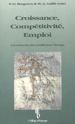 Croissance, Compétitivité, Emploi