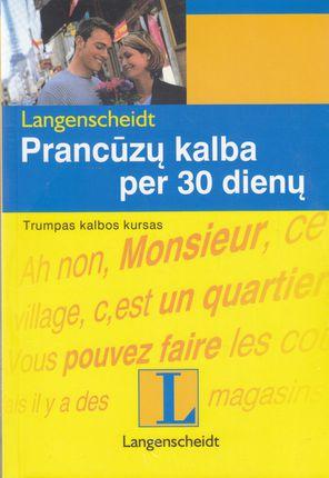 Prancūzų kalba per 30 dienų + CD