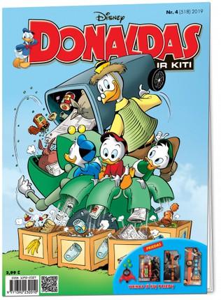Donaldas ir kiti. Žurnalas. Nr 4 (518)