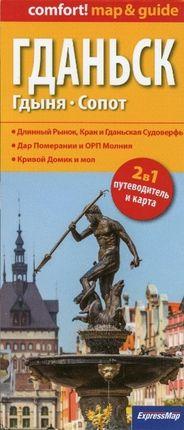 Danzig, Gdingen, Zoppot 1 : 26 000. Russische Ausgabe