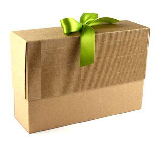 Dėžutė knygoms (ruda, 16 x 23,5 x 7 cm)
