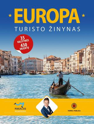 Europa: turisto žinynas (knyga su defektais)