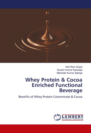 Whey Protein & Cocoa Enriched Functional Beverage
