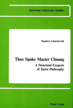 Thus Spake Master Chuang