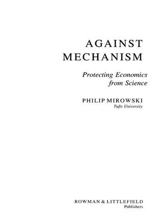 Against Mechanism