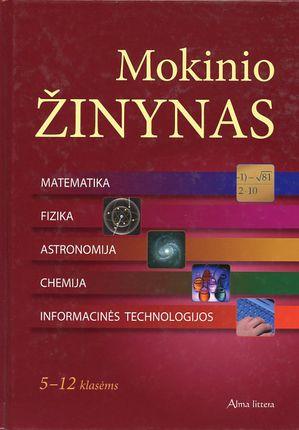 Mokinio žinynas 5–12 klasėms (knyga su defektais)