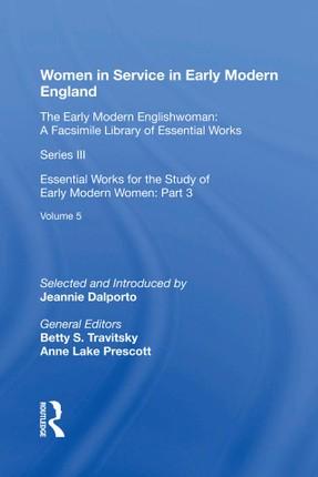 Women in Service in Early Modern England