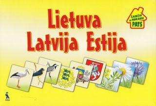 Lietuva, Latvija, Estija. Žaidžiu ir mokausi pats. Žaidimas