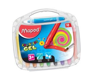 Gelinės kreidelės išsukamos MAPED 10sp.