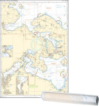 Einzelkarte Flensburger Förde - Als Sund - Abenra Fjord / Flensburg Fjord West (Ausgabe 2021)