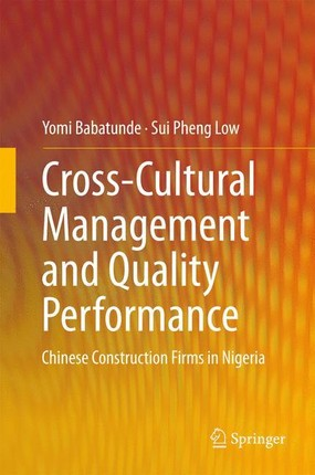 Cross-Cultural Management and Quality Performance
