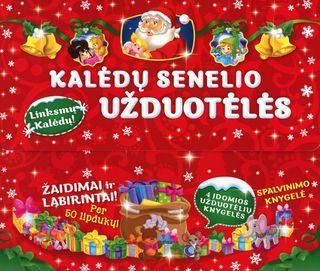Kalėdų senelio užduotėlės