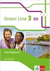Green Line 3 G9. 7. Klasse. Trainingsbuch mit Audio-CD