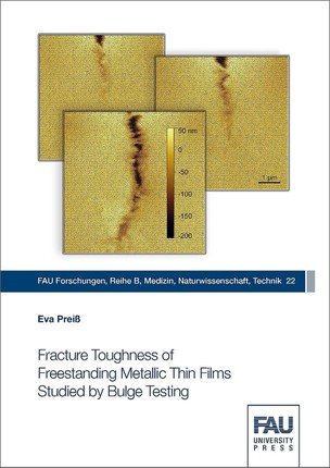Fracture Toughness of Freestanding Metallic Thin Films Studied by Bulge Testing
