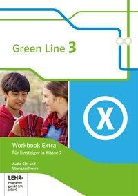 Green Line 3. 7. Klasse. Workbook Extra mit Audio-CDs und Übungssoftware