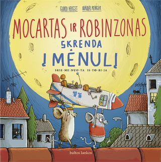Mocartas ir Robinsonas skrenda į Mėnulį
