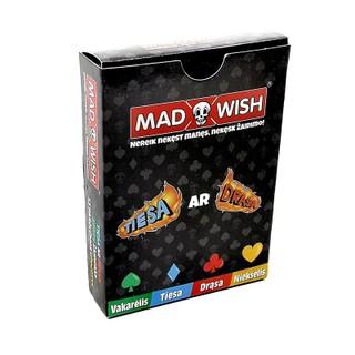 Kortų žaidimas MadWish.  N-18