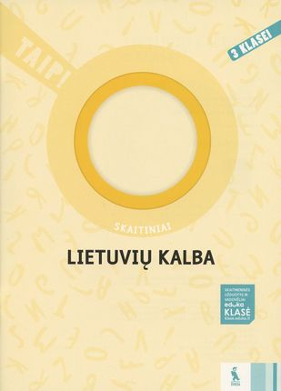 Lietuvių kalba: skaitiniai 3 klasei