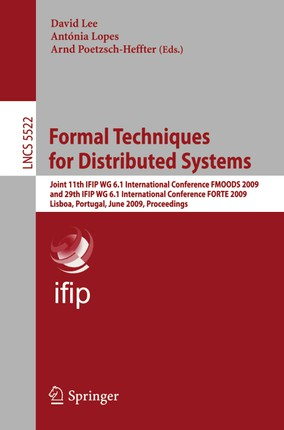 Formal Techniques for Distributed Systems