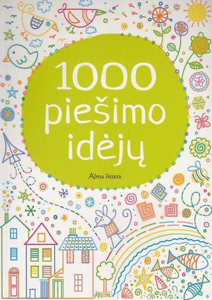 1000 piešimo idėjų