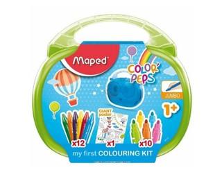 Piešimo rinkinys ColorPeps MAPED, naudojimui nuo 1 metų