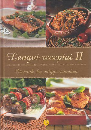 Lengvi receptai II