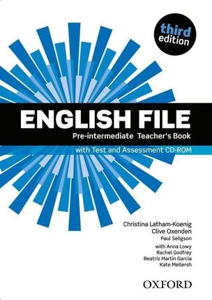 English File: Pre-intermediate. Teacher's Book with Test and Assessment CD-ROM