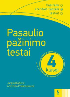 Pasaulio pažinimo testai 4 klasei