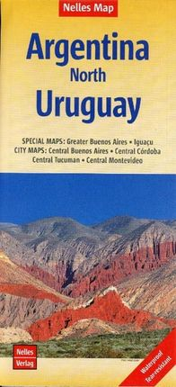 Nelles Map Argentina-North 1 : 2 500 000