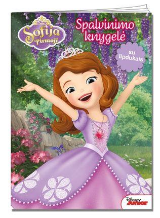Sofija Pirmoji. Spalvinimo knygelė