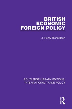 British Economic Foreign Policy