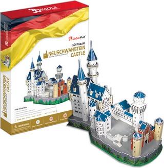 3D dėlionė: Neuschwanstein Castle