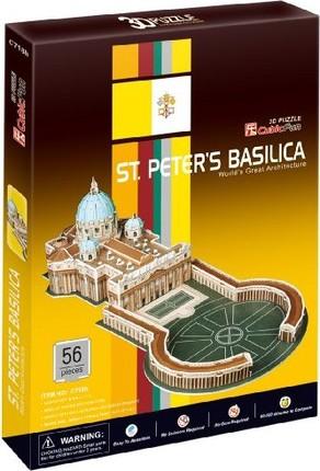 3D dėlionė: St.Peter's Basilica Vatican City