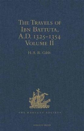 Travels of Ibn Battuta, A.D. 1325-1354