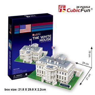 3D dėlionė: Baltieji rūmai