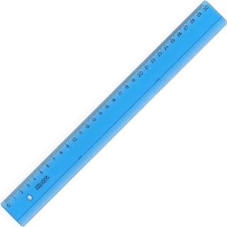 Liniuotė KOH-I-NOOR 30cm,mėlyna skaidri plastikinė