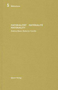 Materialität Matérialité Materiality