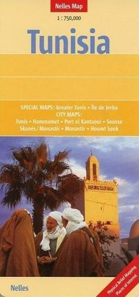Nelles Map Tunisia 1 : 750 000