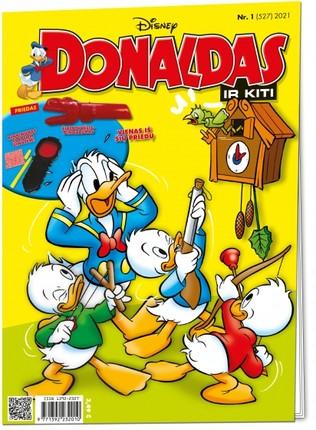 Donaldas ir kiti. Žurnalas. Nr 1 (527) 2021