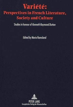 Variété: Perspectives in French Literature, Society and Culture