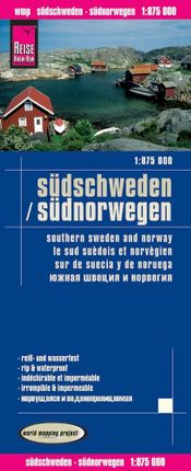 Reise Know-How Landkarte Südschweden, Südnorwegen 1:875.000