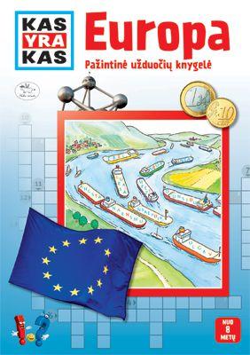 Kas yra kas. Europa. Pažintinė užduočių knygelė