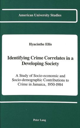 Identifying Crime Correlates in a Developing Society