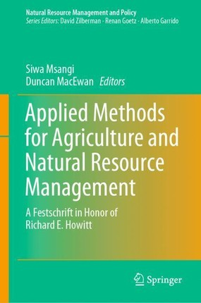 Applied Methods for Agriculture and Natural Resource Management
