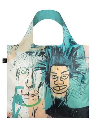 """LOQI pirkinių krepšys """"JEAN MICHEL BASQUIAT Warhol"""""""